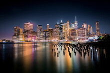 Old Brooklyn Pylon Piers With ...