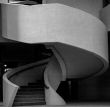 Spiral Staircase In A Building