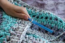 Handiwork. Knitting. Handmade....