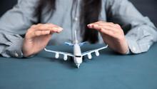 Woman Hand Airplane