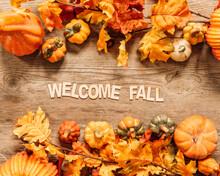 Beautiful Welcome Fall Composi...