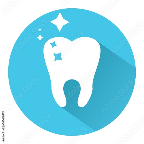 Tablou Canvas shiny tooth