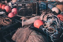 A Close Up Of Fishing Equiptme...
