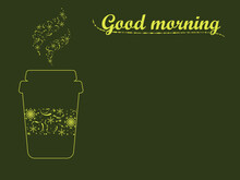 Good Morning Cheerful Poster W...