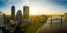 Jacksonville Florida Skyline A...
