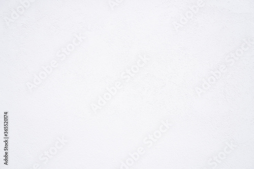 Textured White concrete background. Wall white painted Canvas Print