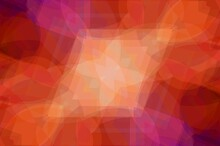 Abstract Orange Bokeh Backgrou...