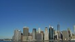 Lower Manhattan, New York City, View From Brooklyn Heights Promenade