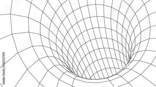 Fotografie, Obraz Tunnel or wormhole