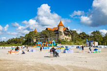 Historic Hotel On The Beach In...