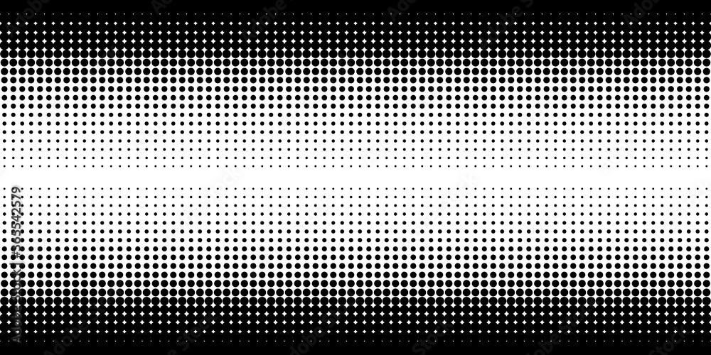 Fototapeta Black And White Abstract Geometric Pattern Vector illustration