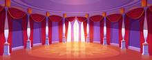 Ballroom Interior In Medieval ...
