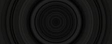 Mosaic Round Black Background ...