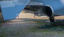 Exhaust Port Of Jet Aircraft