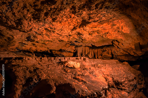 Stampa su Tela The wonderful and curious caverns state park Florida.