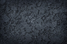 Dark Grey Black Slate Stone Rough Texture Abstract For Baclgtound