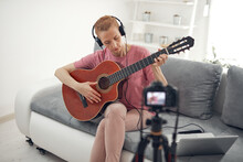 Guitarist Making Video Lessons...