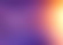 Yellow Shine On Lilac Blur Smo...