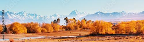 Obraz Autumn in New Zealand - fototapety do salonu