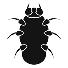 Danger Bug Icon. Simple Illustration Of Danger Bug Vector Icon For Web Design Isolated On White Background