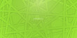 High contrast citrus green 3d line stripes. Abstract tech graphic banner design. Vector corporate background