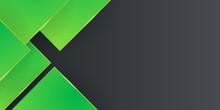 Green Black Slide Presentation Background Templates