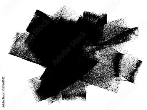 Fototapeta Grunge Roller Brush Stroke Paint Texture Background