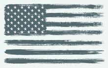 Grunge Black And White America...