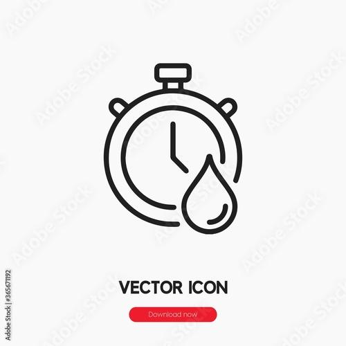 fast dry icon vector Fototapet