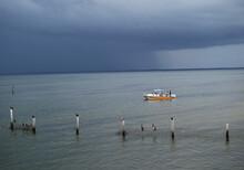 Fishing In Captiva Island Florida In The Rain