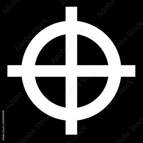 Fotografía The vector ancient magical Slavic symbol
