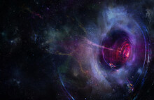 Abstract Space Wallpaper. Blac...