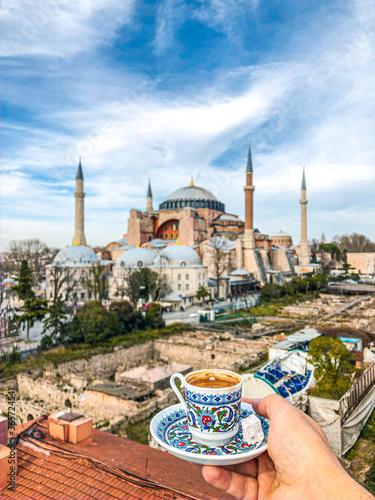 hagia sophia istanbul turkey Canvas Print