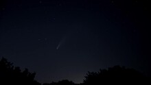 Time Lapse Of Comet Neowise Tr...