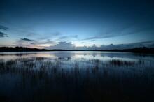 Morning Twilight Over Nine Mil...