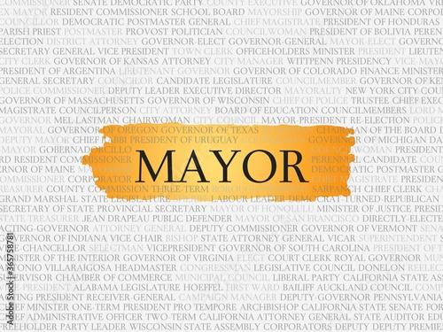 mayor Wallpaper Mural