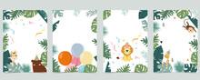 Green Collection Of Safari Bac...