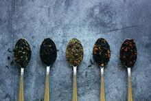 Various Types Of Herbal Tea In...