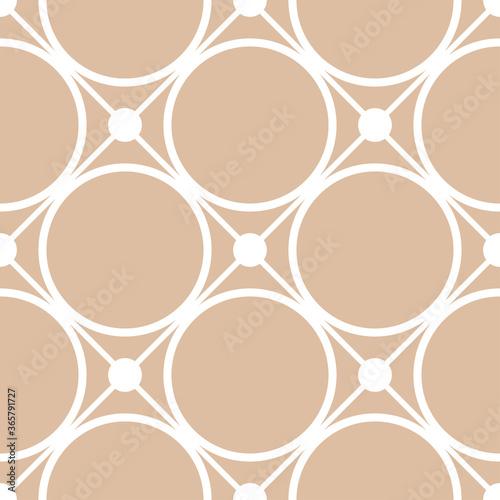 Tapeta beżowa  wzor-geometryczny-bialy-wzor-na-bezowym-bezszwowym-tle
