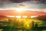 Fototapeta Kawa jest smaczna - New Zealand hills