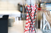 Eco Recycling Paper Straws For...