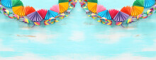 Paper Colorful Chain Garland O...