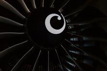 Turbine Blades Of An Aircraft ...