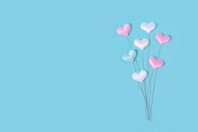 Pastel Balloons In The Shape O...