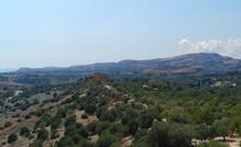 Agrigento Akragas Valley Of The Temples - Tempio Della Concordia From Tempio Di Giunone