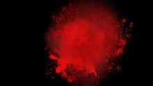 Splash Image Of Red Liquid, Su...
