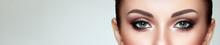 Female Eye With Extreme Long F...