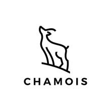 Chamois Logo Vector Icon Illus...