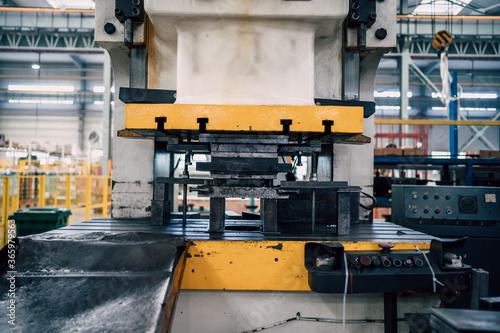 Fototapety stylowe  machine-tool-in-factory