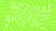 Green Twirl Wave Pattern Abstract For Background, Optical Wave Twirl Green Color, Hypnotic Concept, Dynamic Motion Curve Of Lines Flowing, Lines Wave Shaped Array Of Blended Points Illusion